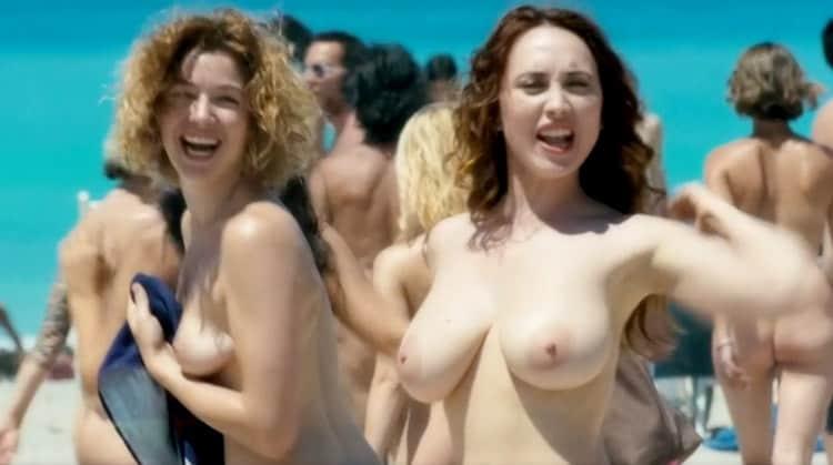 chiara Francini Sarah Felberbaum Nude Maschi Contro Femmine