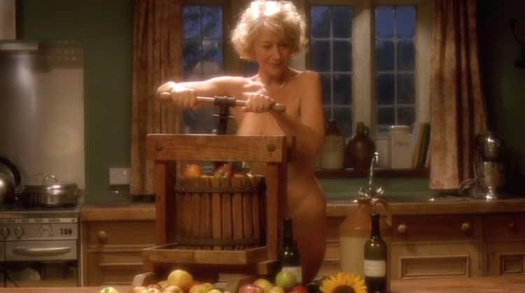helen Mirren Nude Calendar Girls