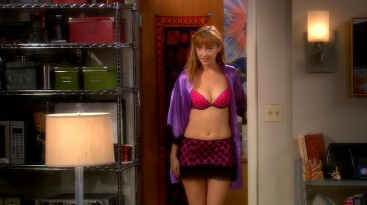 the Big Bang Theory Season 3 Nude Scenes