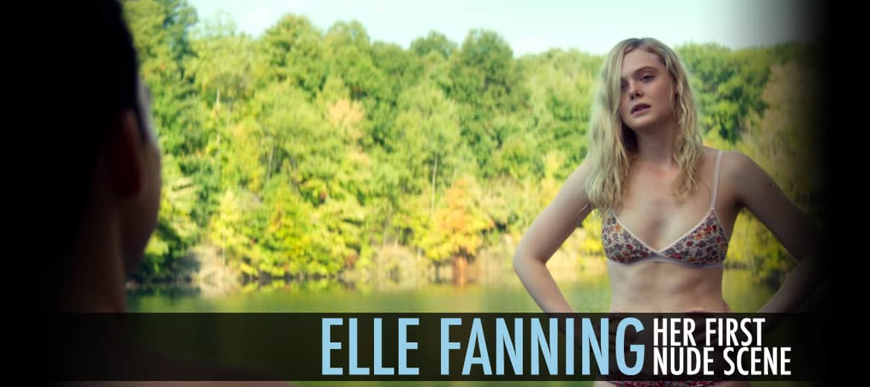 Elle Fanning Her First Nude Scene