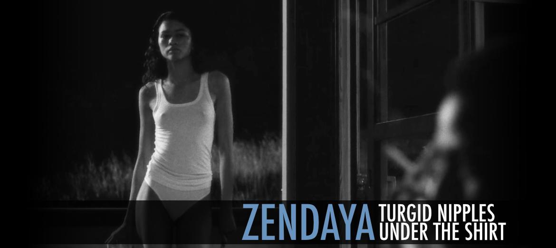 Zendaya Turgid Nipples Malcolm And Marie