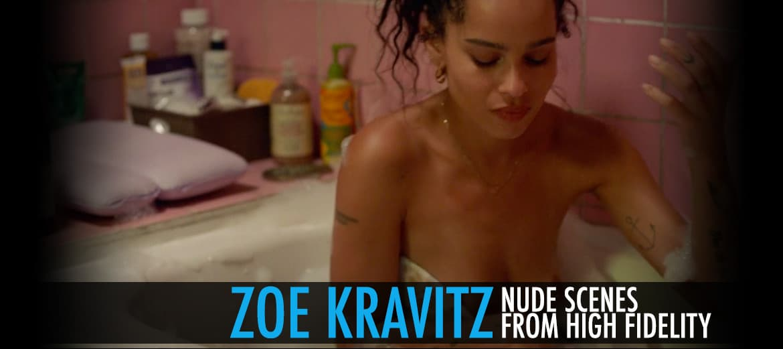 zoe Kravitz Nude High Fidelity