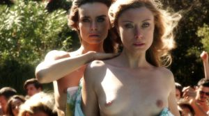 euridice Axen Kasia Smutniak Full Frontal Nude Loro 1
