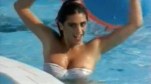 sabrina Salerno Nude In The Pool