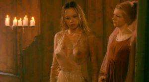 anna Falchi Nuda La Principessa E Il Povero