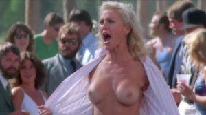 lori Sutton Flashes Her Boobs Up The Creek