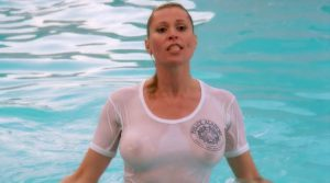 leslie Easterbrook Big Boobs Wet T Shirt