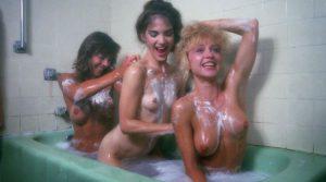 linnea Quigley Michelle Bauer Brinke Stevens Nude In The Bathtub