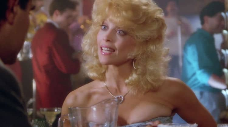 judy Landers Flashes Her Boobs