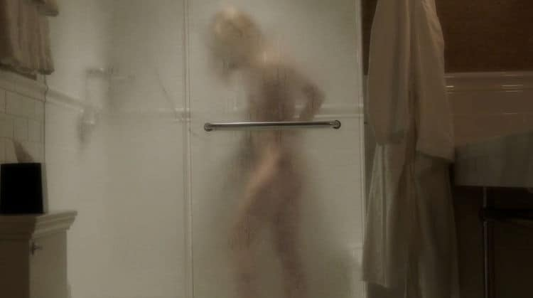 keri Russell Nude Under The Shower The Americans